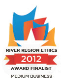 River Region Ethics 2012 Award Finalist